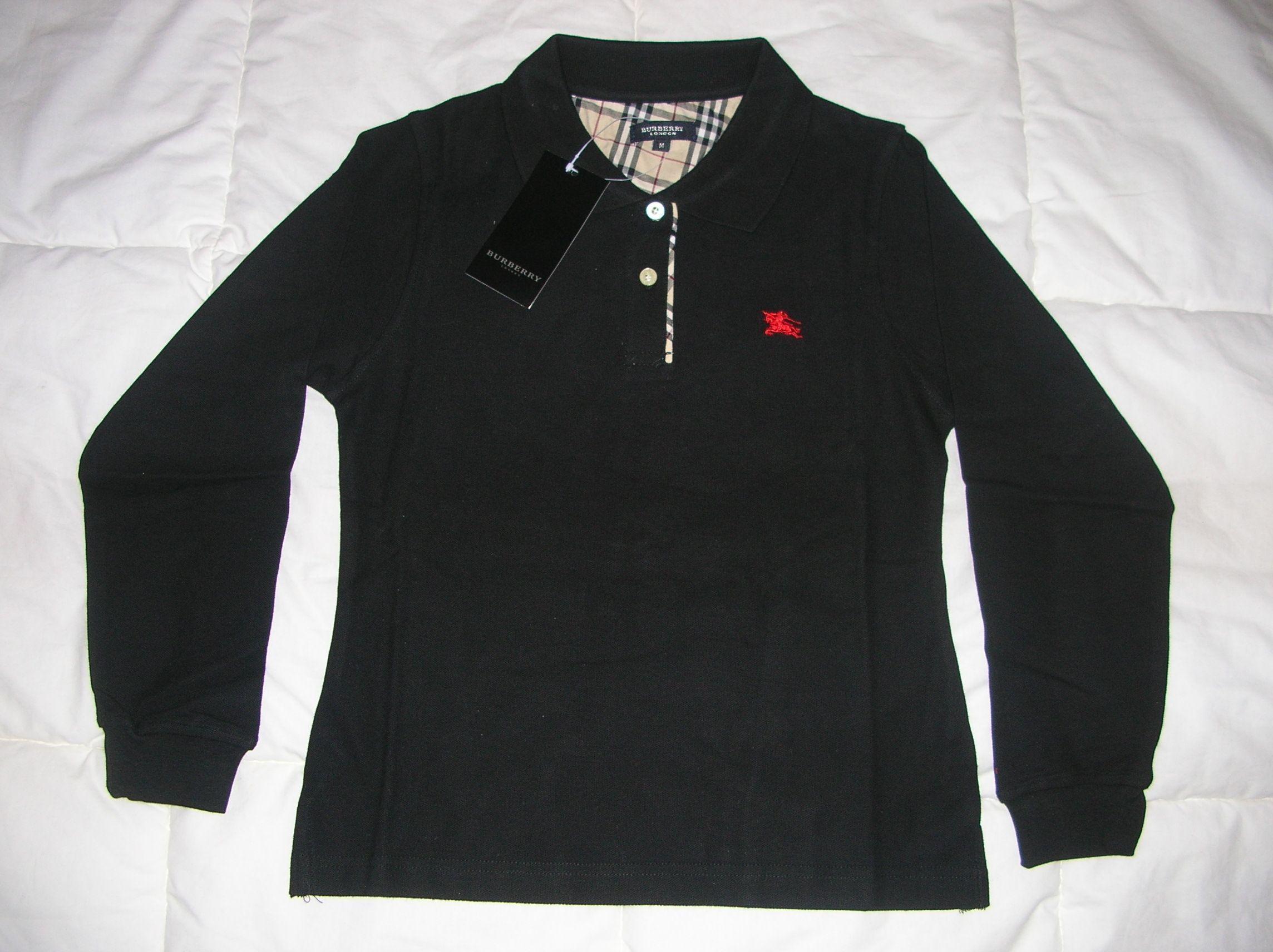 259566fa1e6 Polo Burberry Noir Homme